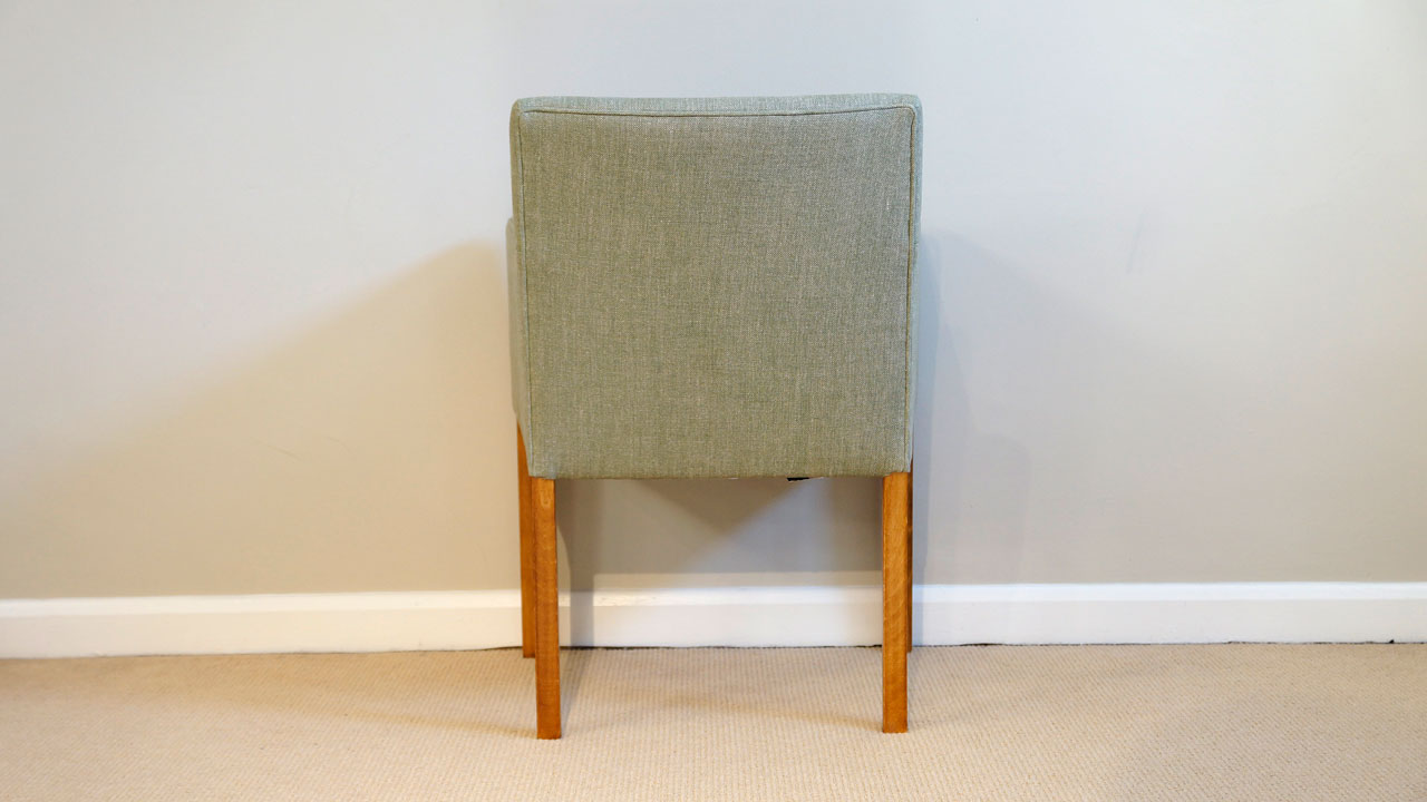 Covercraft Upholstered Dining Chair - Back View