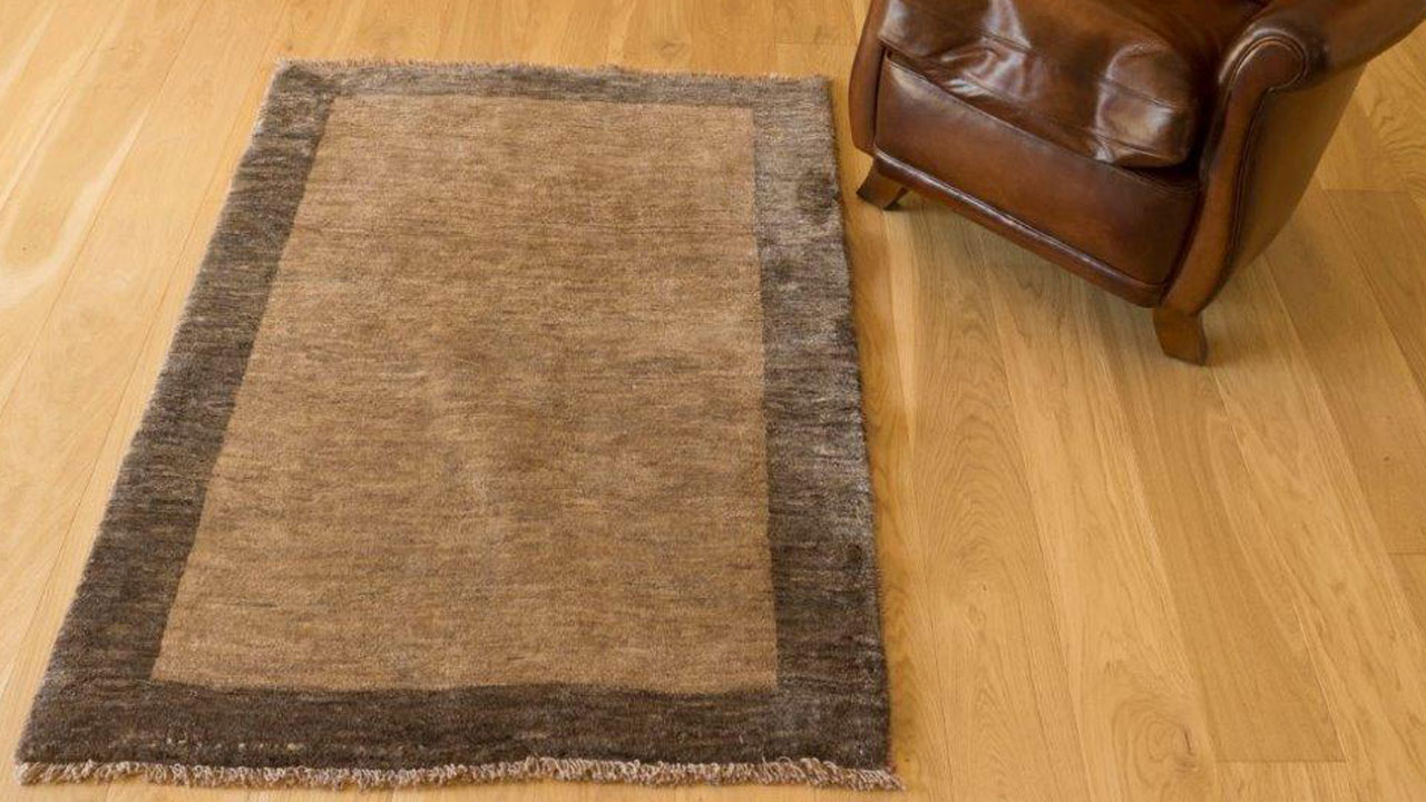 Iranian Gabbeh Rug - Brown -