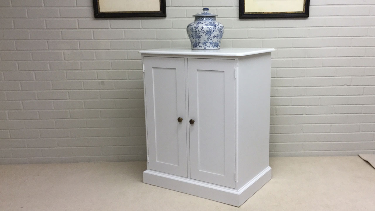 Avebury Small Sideboard - Angled View
