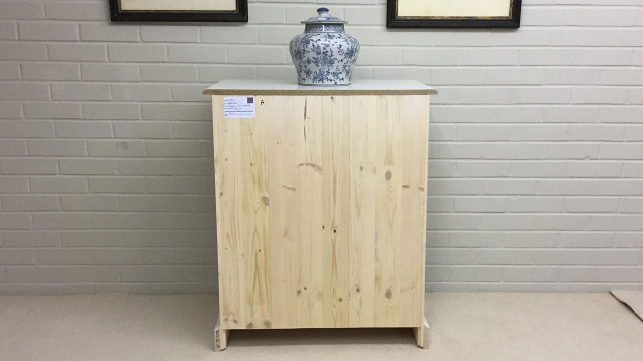 Avebury Small Sideboard - Back View