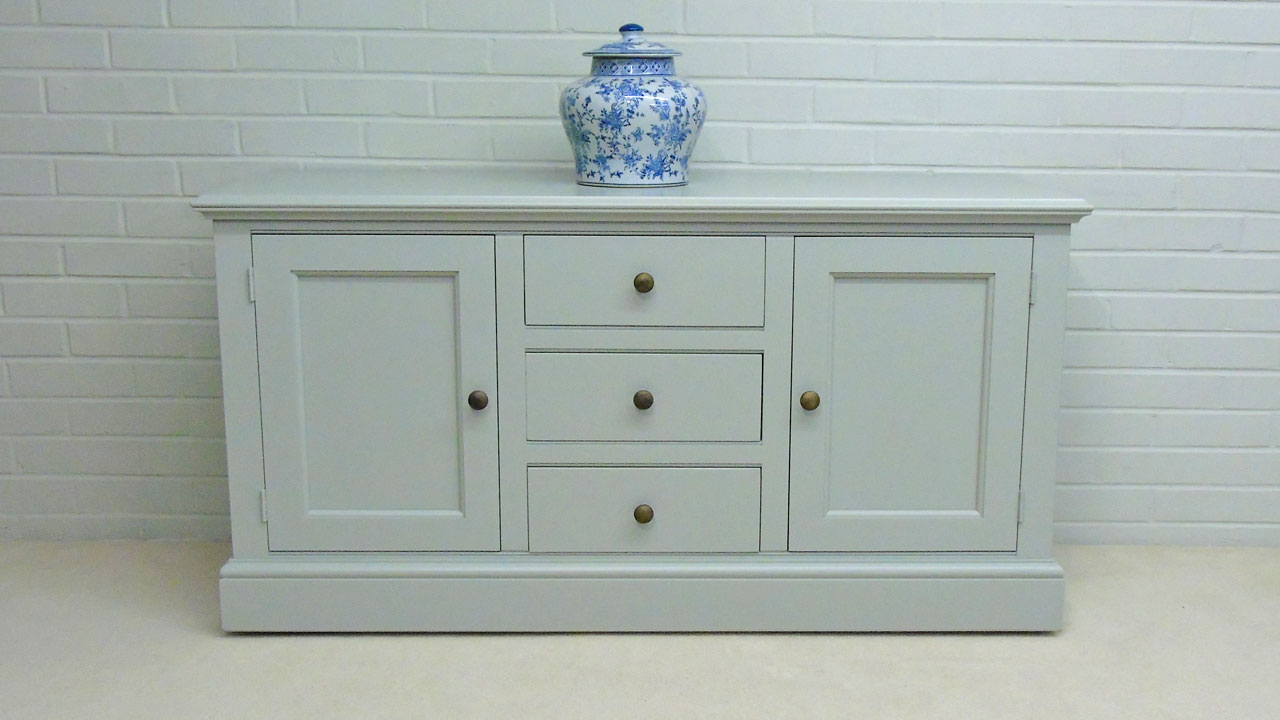 Chatsworth Low Painted Sideboard - Front View