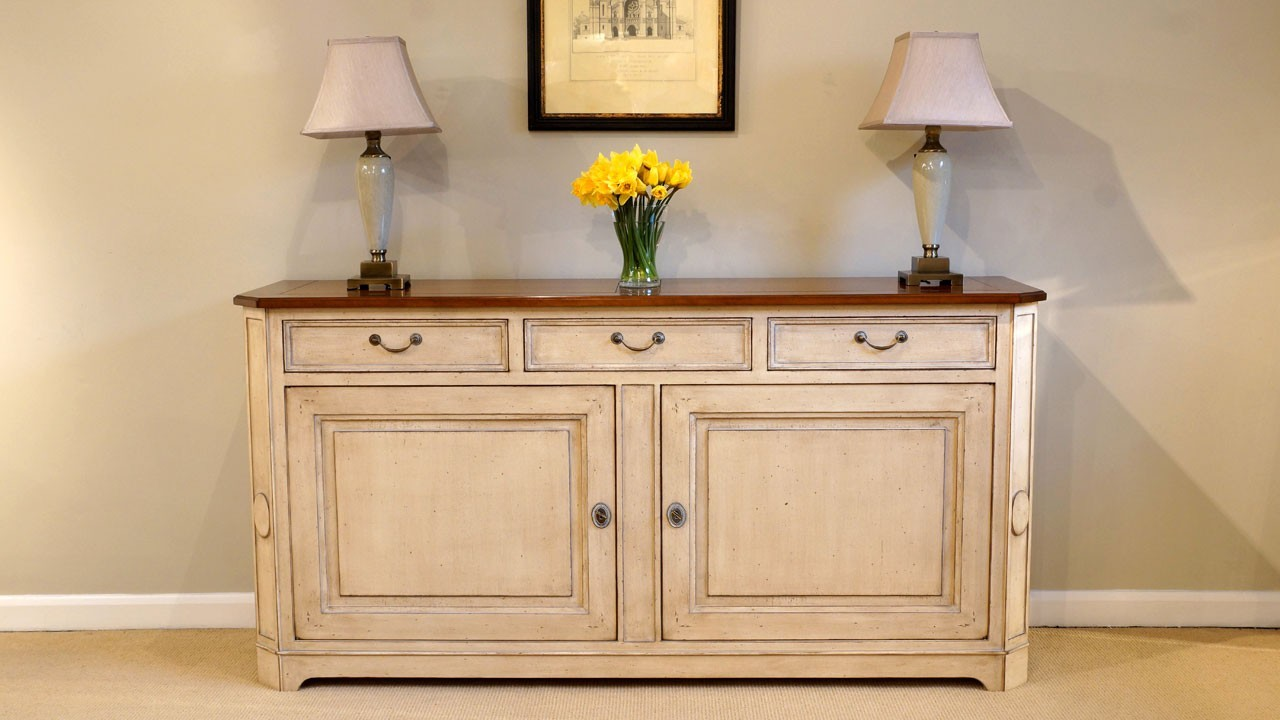Cherrywood Sideboard - Front View - All Closed