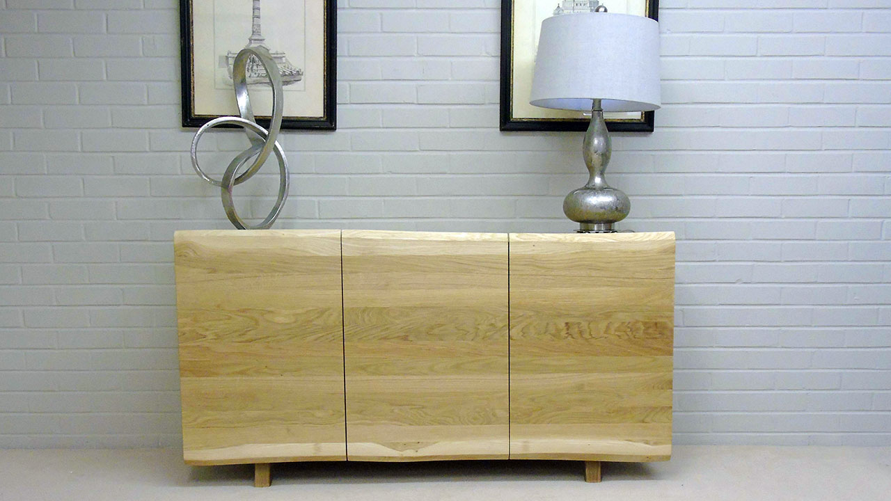 Delta Oak Sideboard - Front View