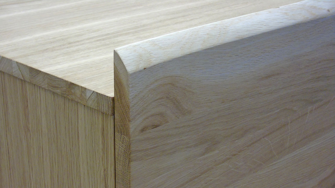 Delta Oak Sideboard - Detail View