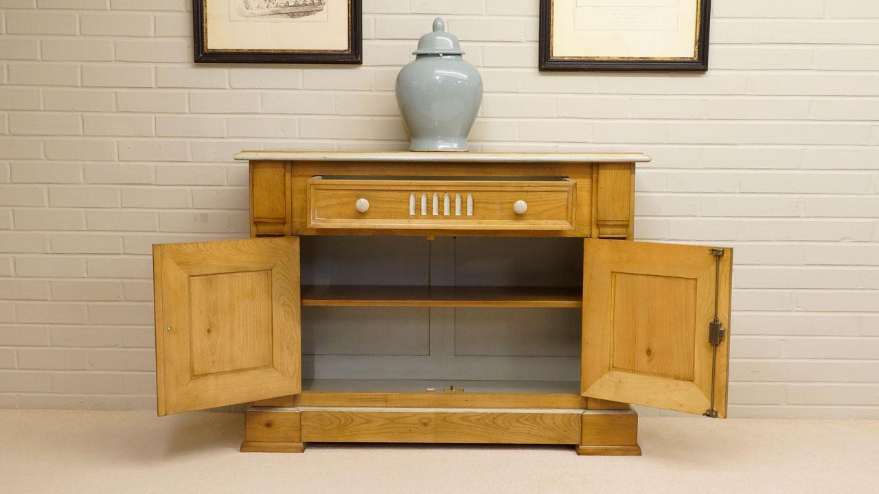 Vendome Cabinet (ex display) - Front View - Doors & Door Open