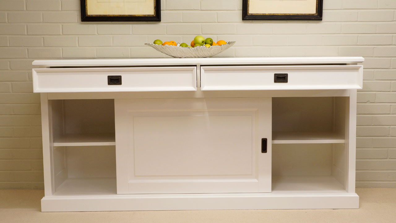 Richmond Sideboard - Front View - Doors and Drawers Open