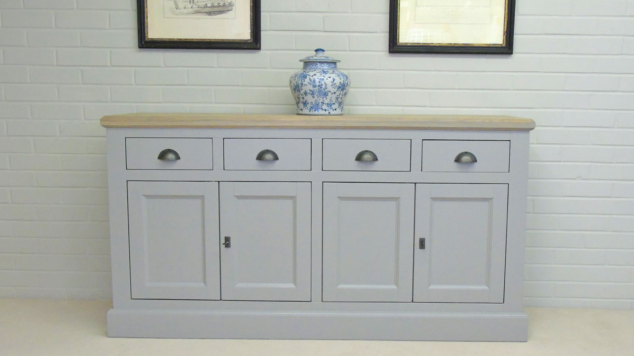 Richmond Low Painted Sideboard - Front View