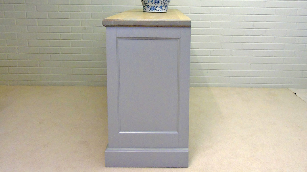 Richmond Low Painted Sideboard - Side View