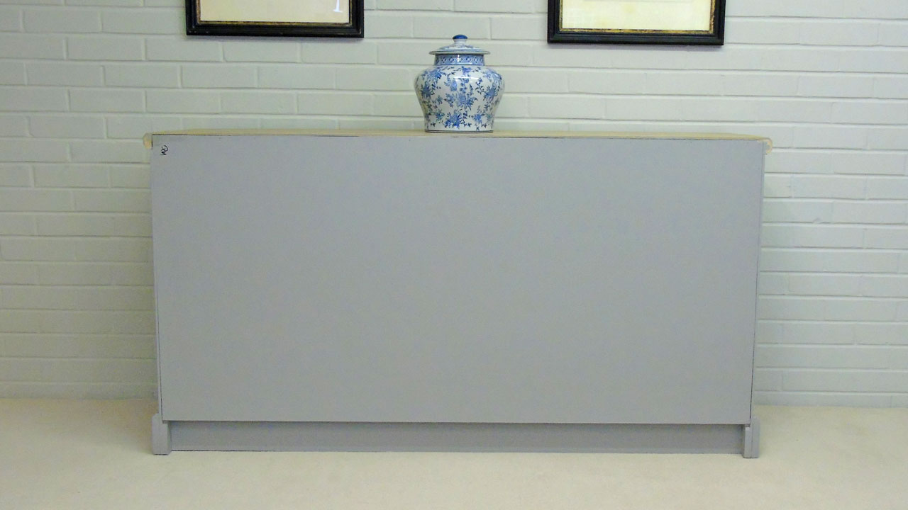 Richmond Low Painted Sideboard - Back View