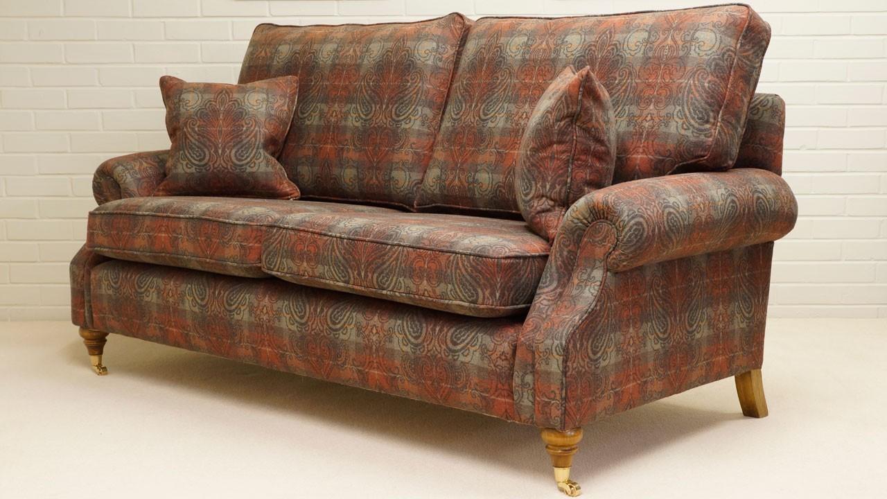Alnwick Sofa - Angled View