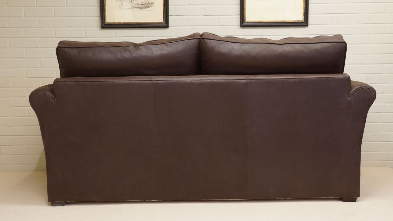 Arrabella Leather Sofa - Leather - Back View