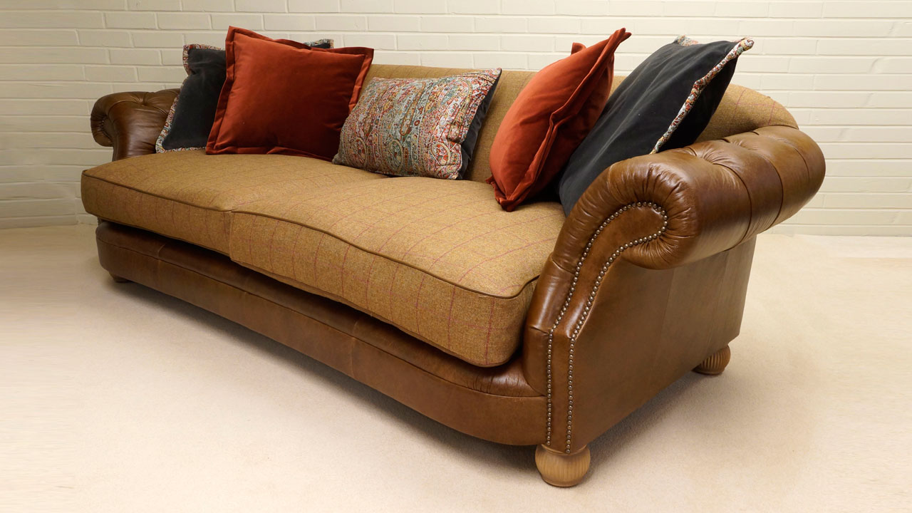 Beaumont Sofa - Angled View