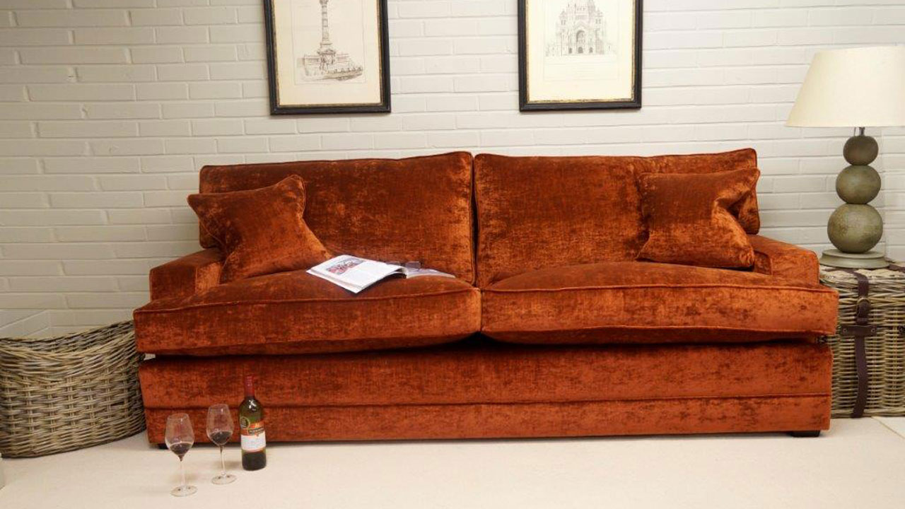 Bourne Sofa - Front View - Colour 2