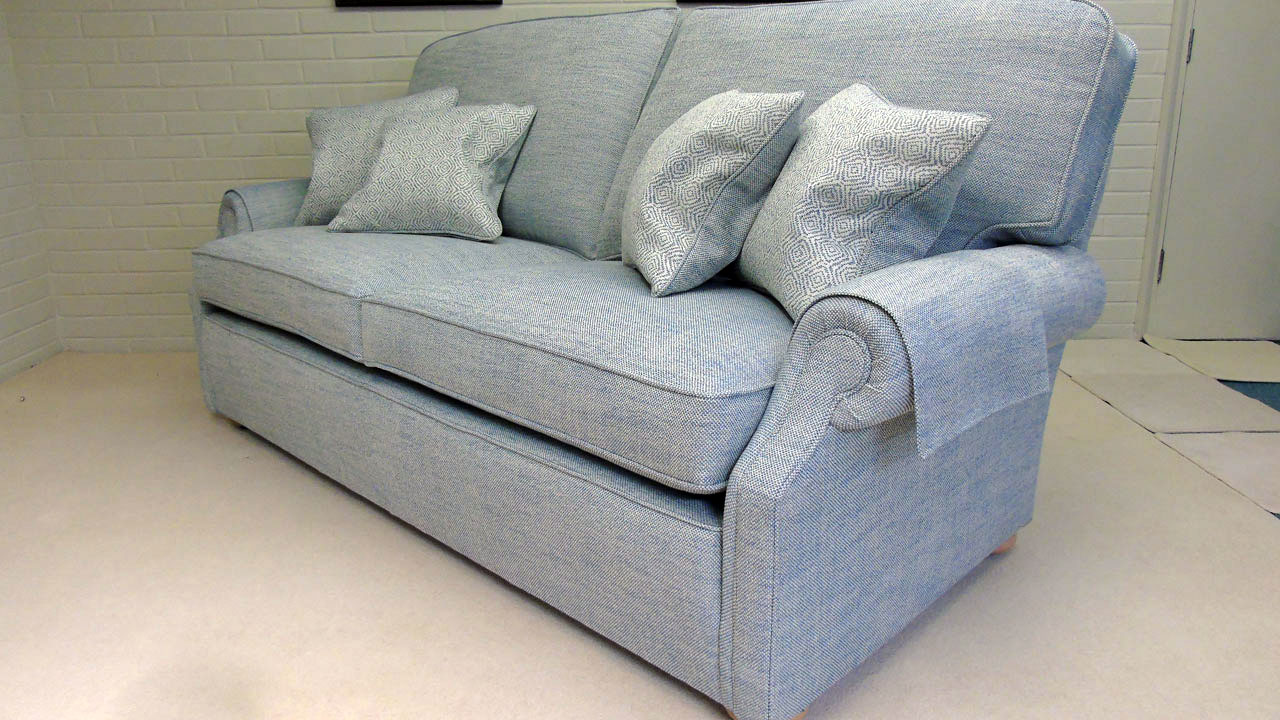 Carlisle Sofa - No Valance - Angled View