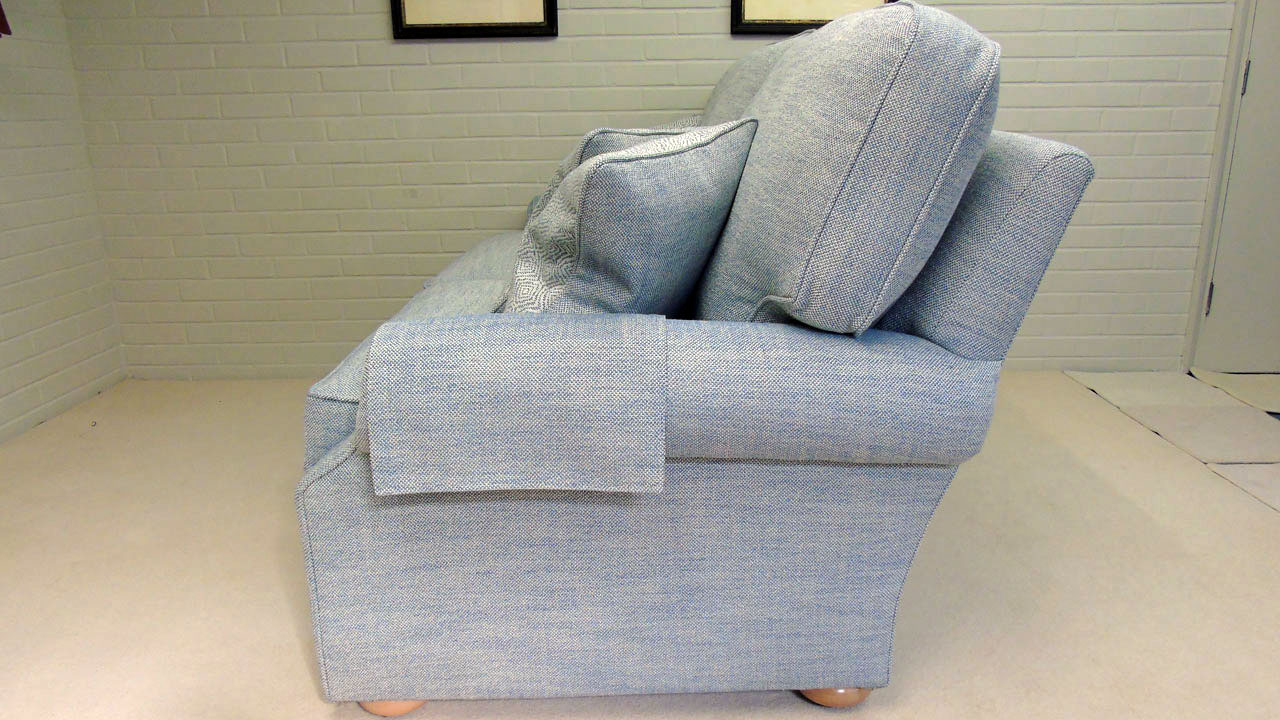 Carlisle Sofa - No Valance - Side View
