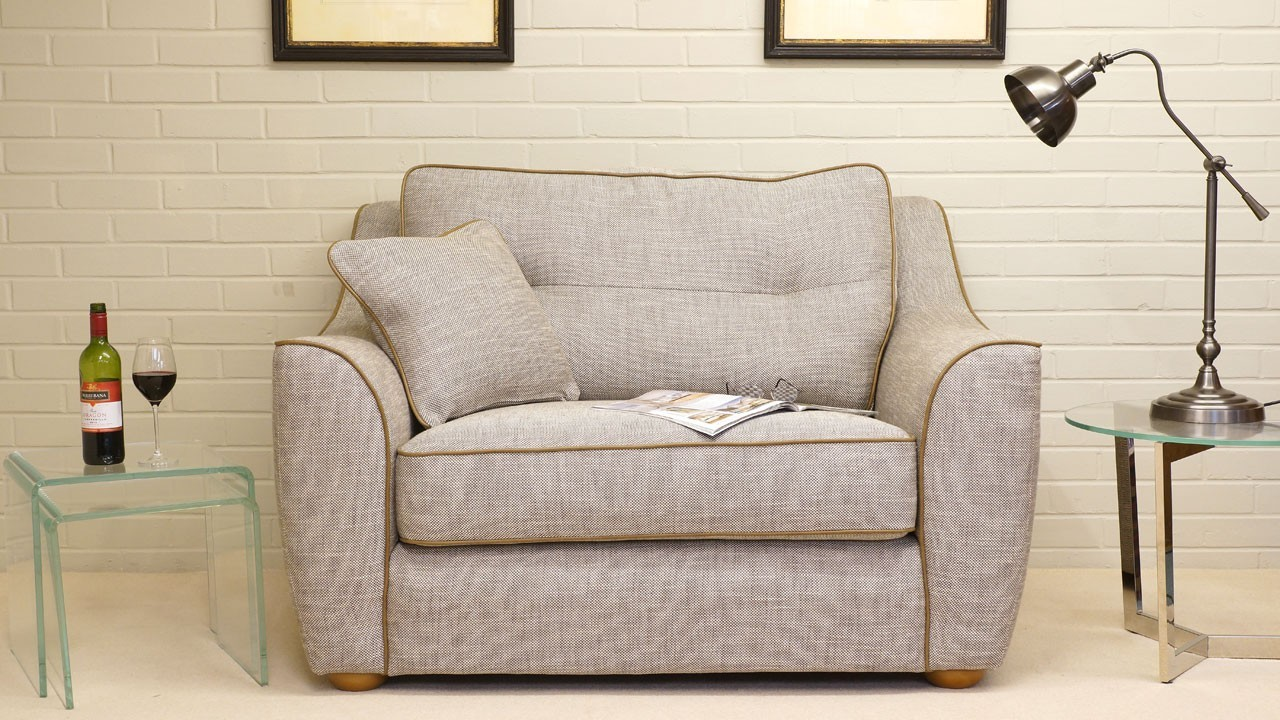 Connie Sofa - Snuggler - Front View