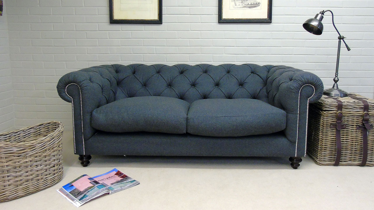 Cotswold Sofa - Front View - Wool