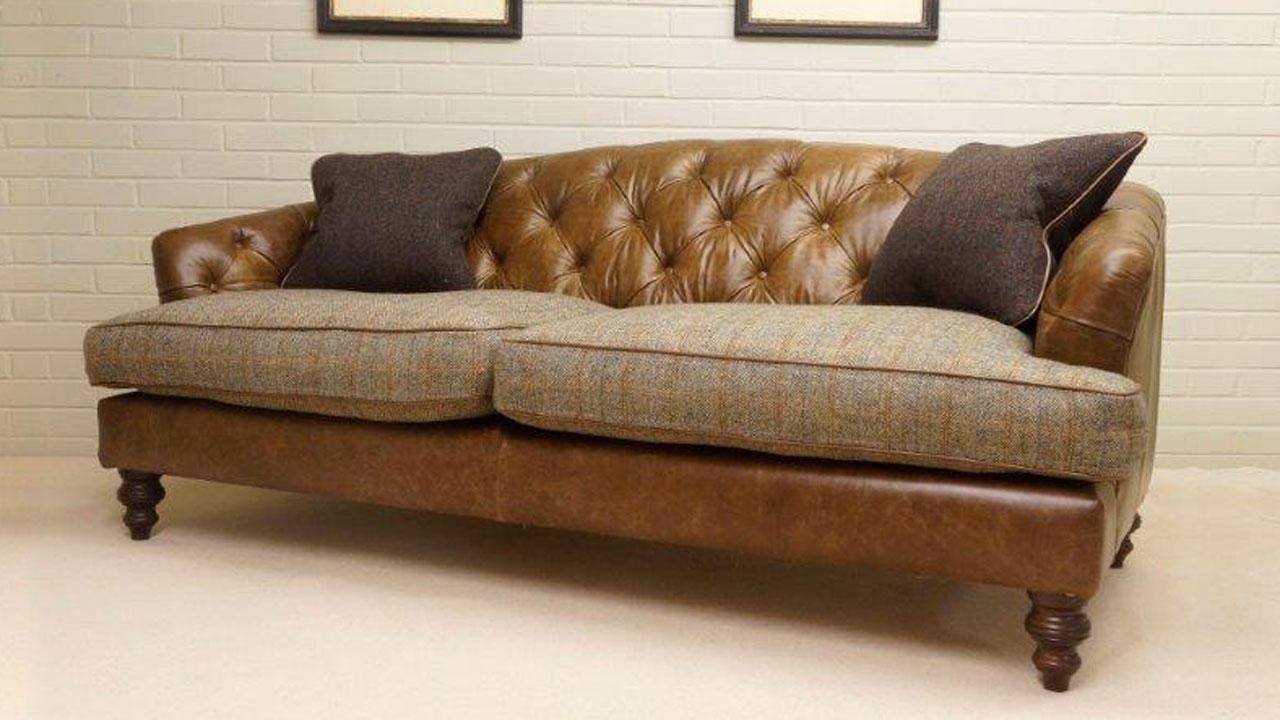 Dalmahoy Sofa - Angled View