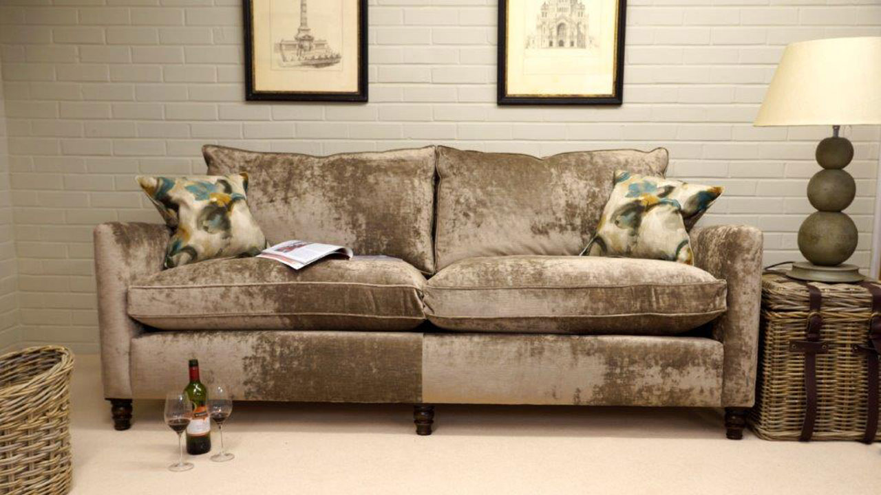 Duresta Hoxton Sofa - Front View
