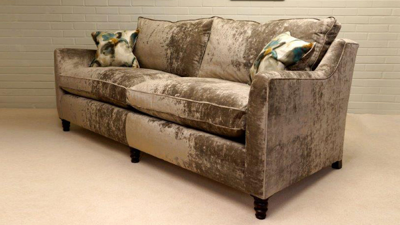 Duresta Hoxton Sofa - Angled View