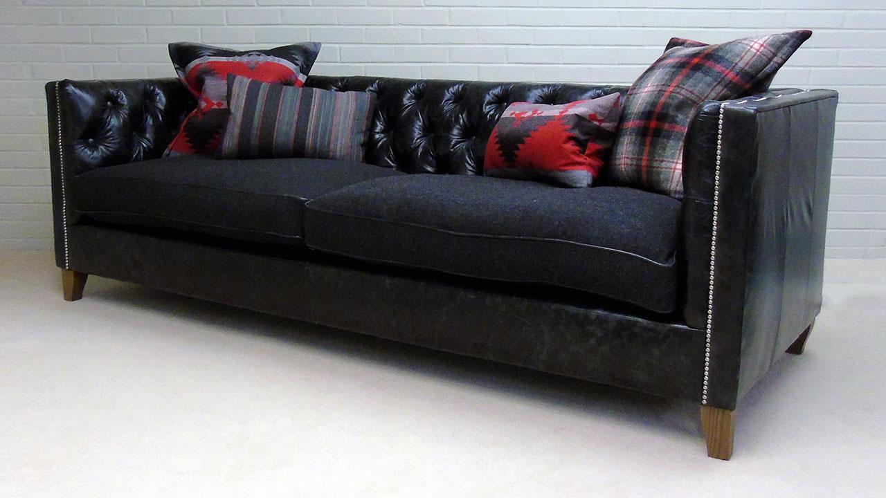 Garrick Sofa - Angled View