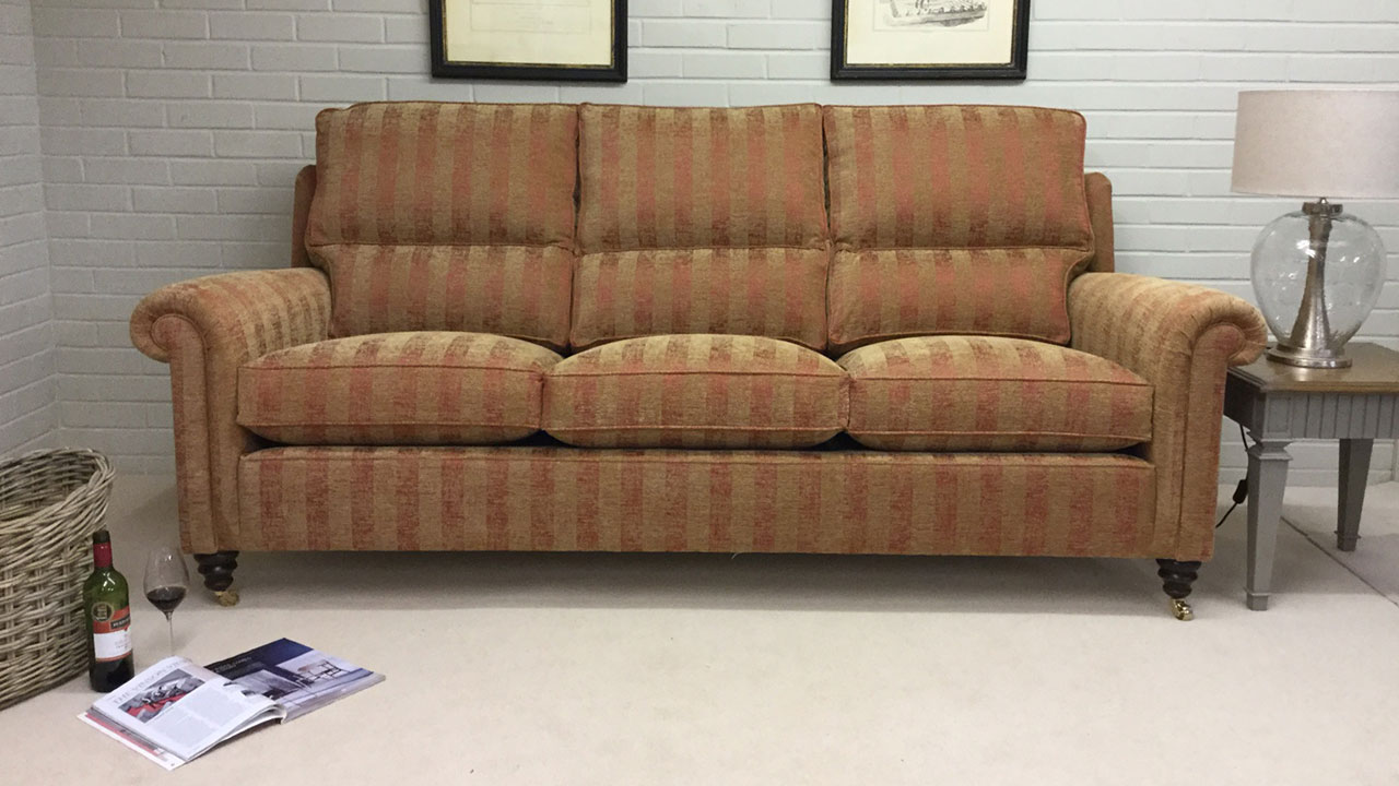 Duresta Southsea Sofa - Front View - Alternative
