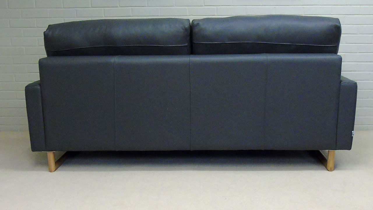 Zow Sofa - Back View - Leather