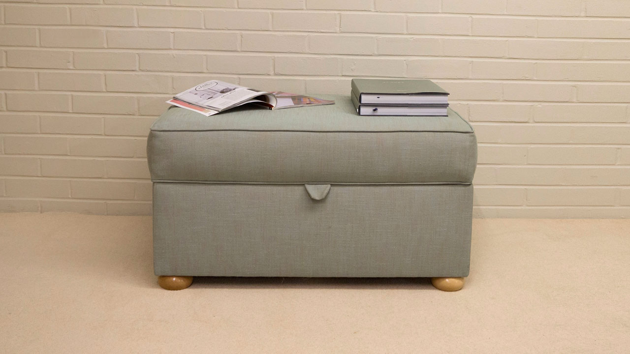 Bespoke Lift Up Lid Stools - Front View - Alternative 1