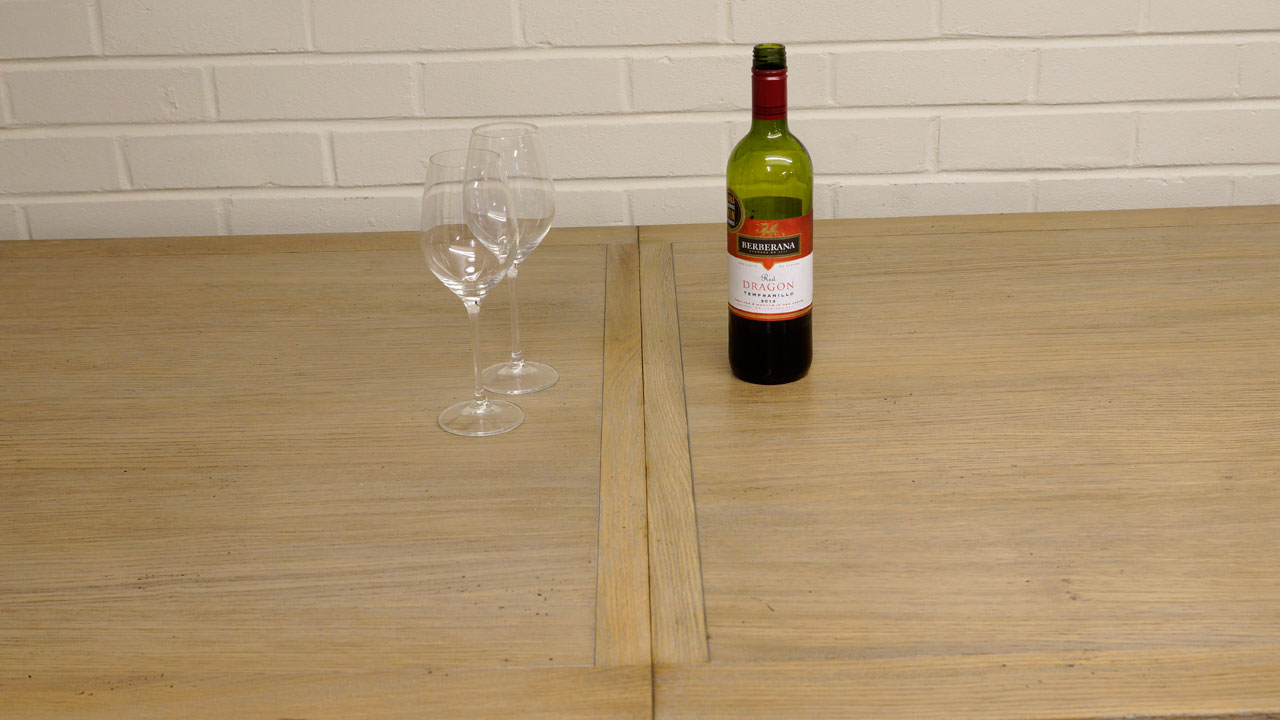 Industrial Dining Table - Detail View