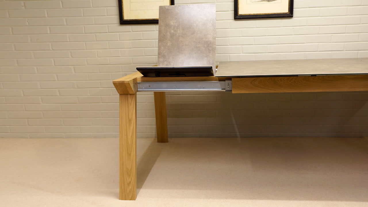 Ceramic Top Dining Table - Extending View 1