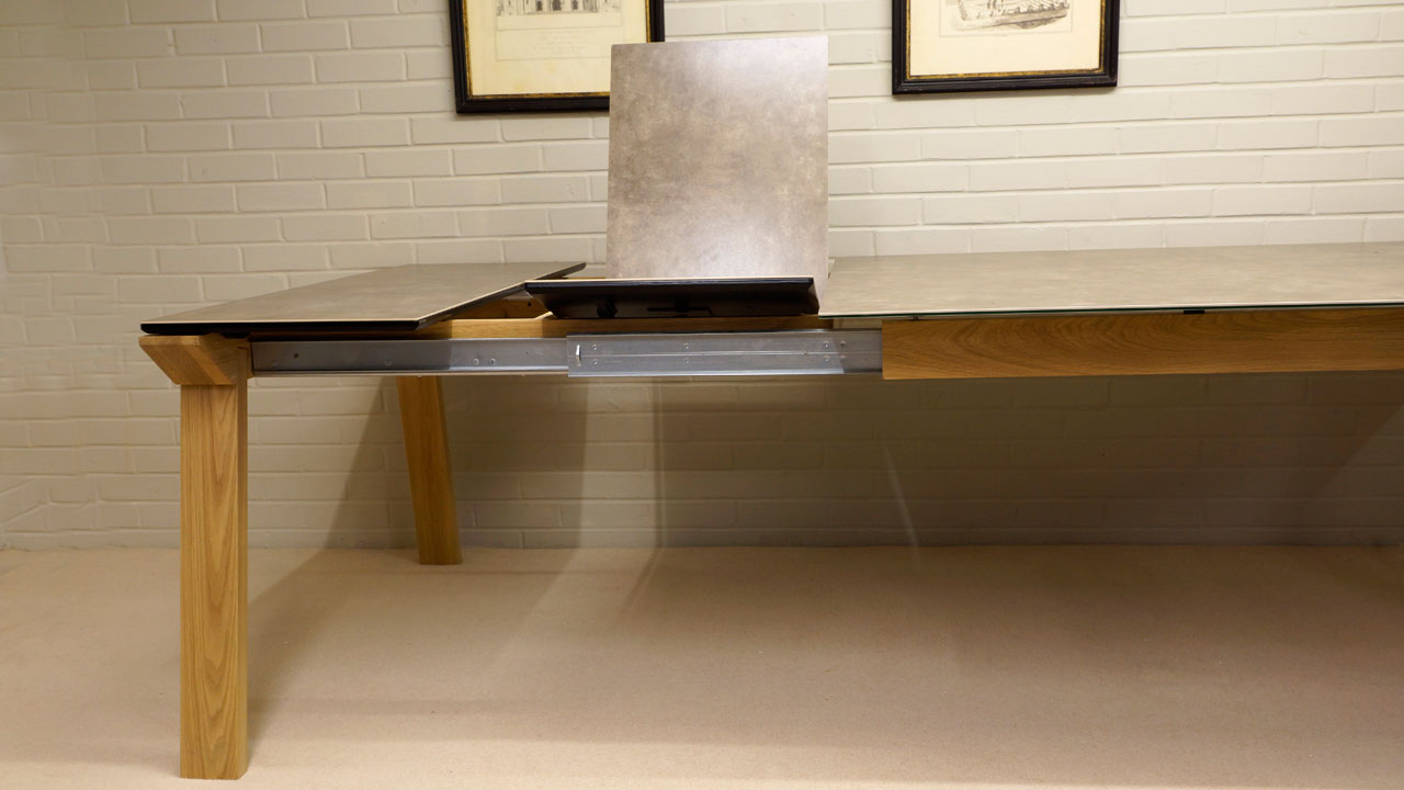 Ceramic Top Dining Table - Extending View 2