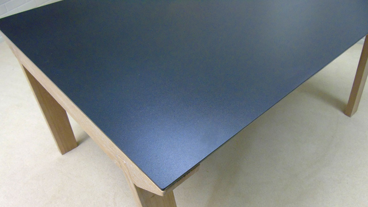 Ceramic Top Dining Table - Top View