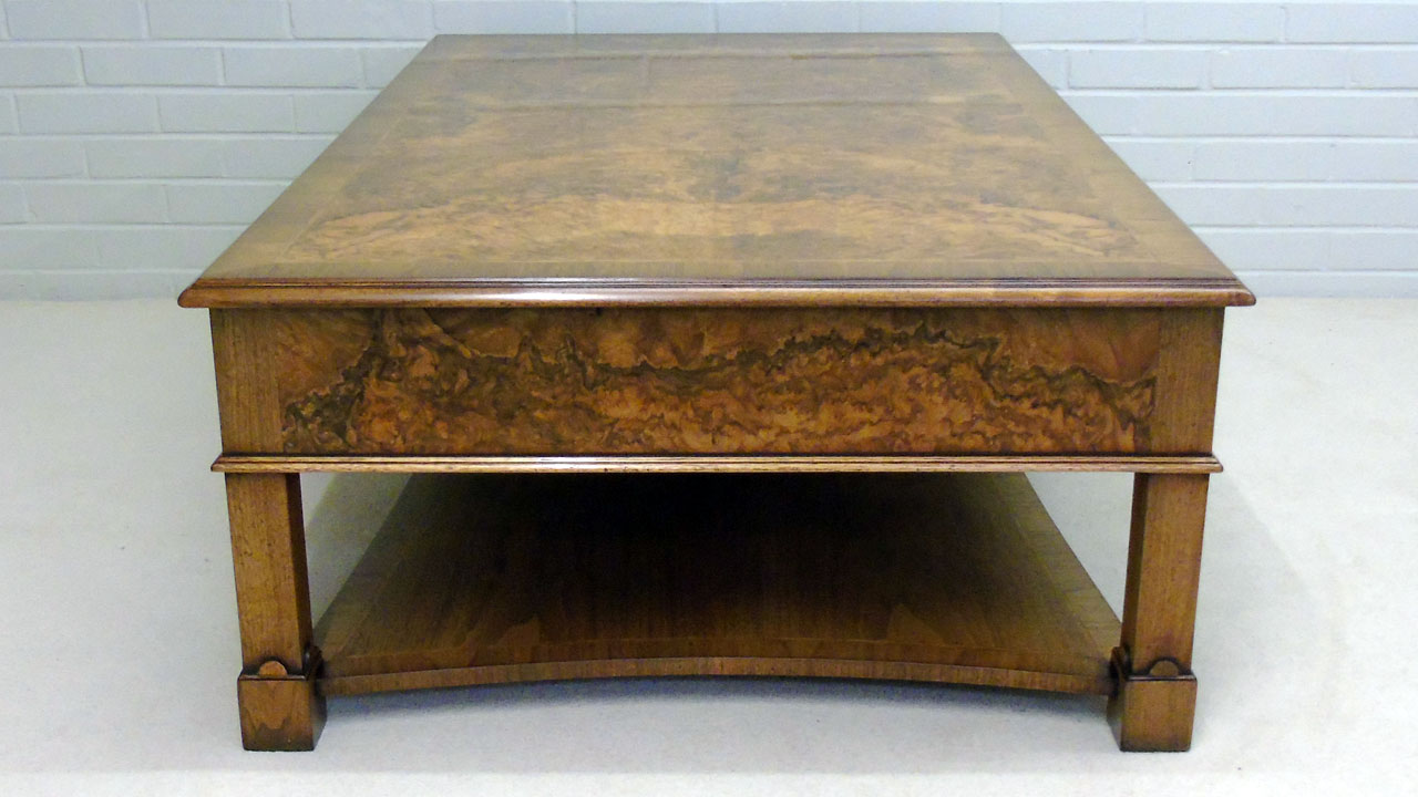 Iain James Walnut Coffee Table - Side View