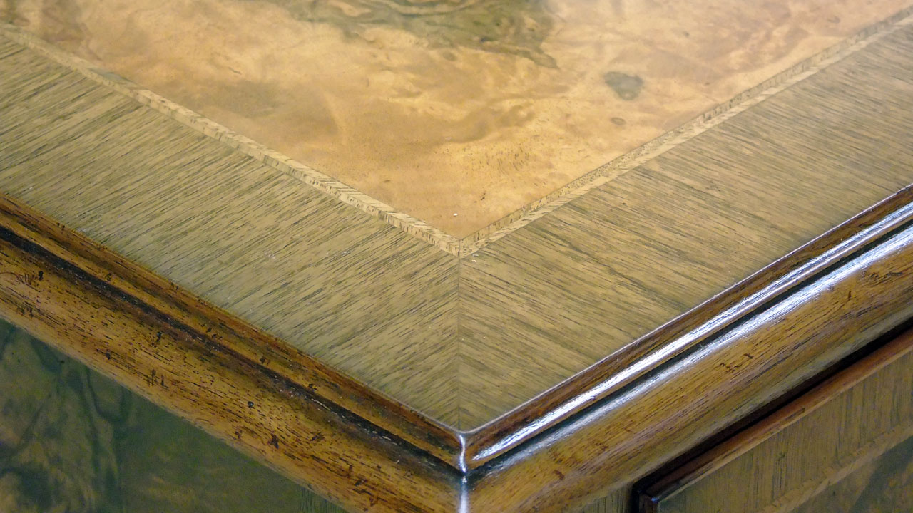Iain James Walnut Coffee Table - Detail View
