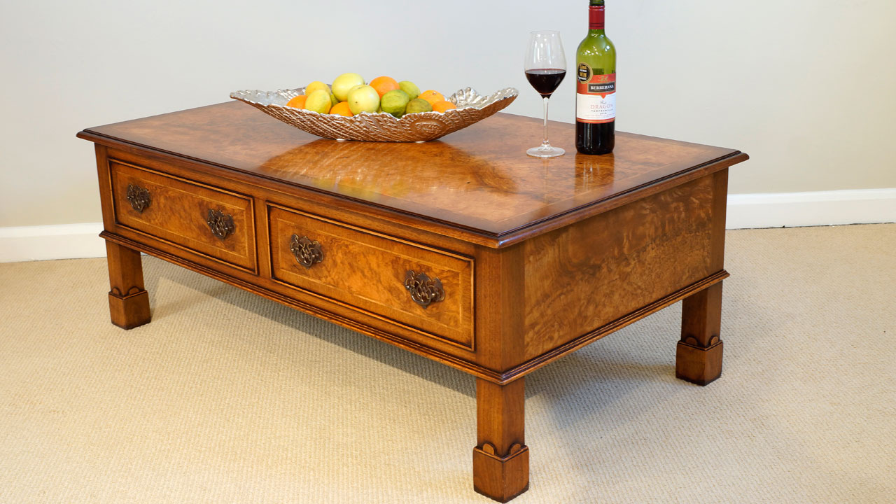 Walnut Coffee Table Lift Up Storage Ghshaw Ltd