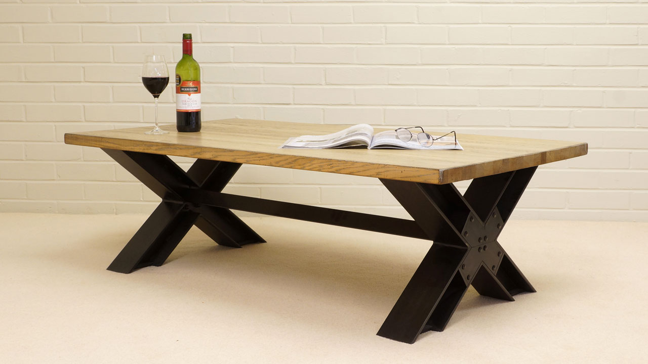 Manufacture Coffee Table - Angled View