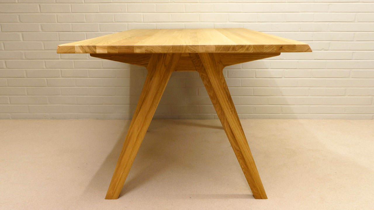 Delta Dining Table - Side View