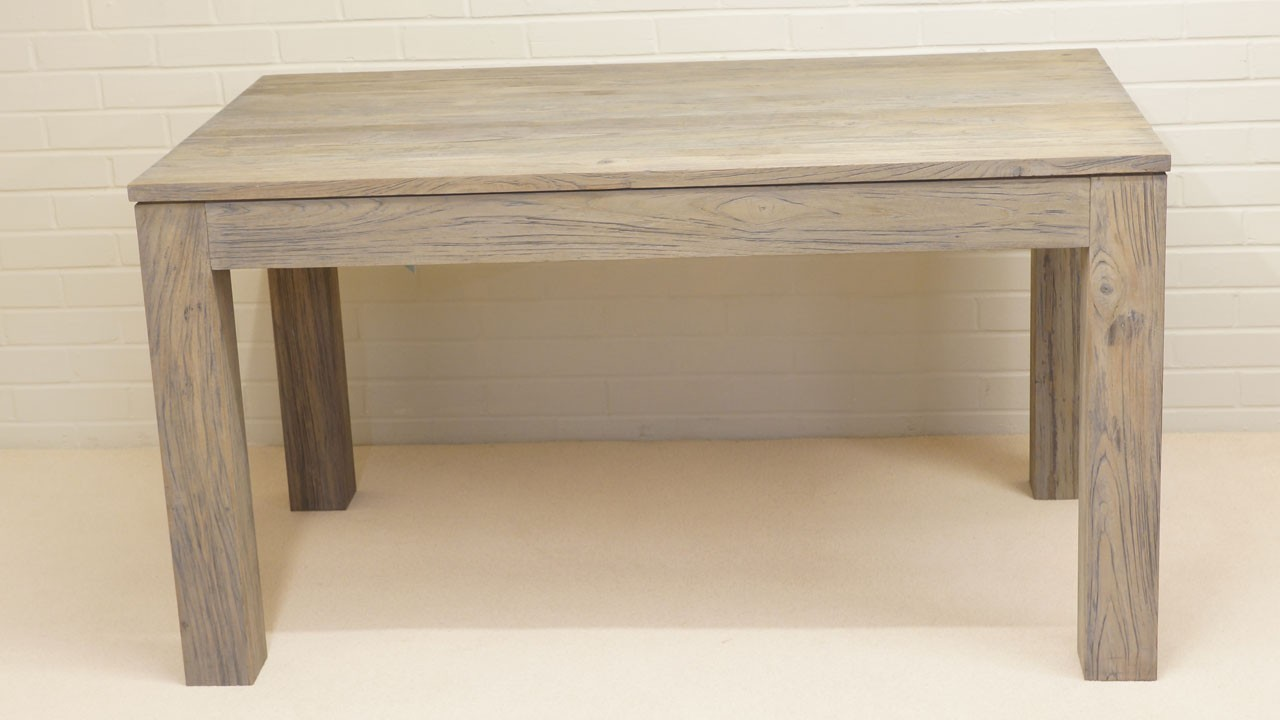 Drift Dining Table - Side View