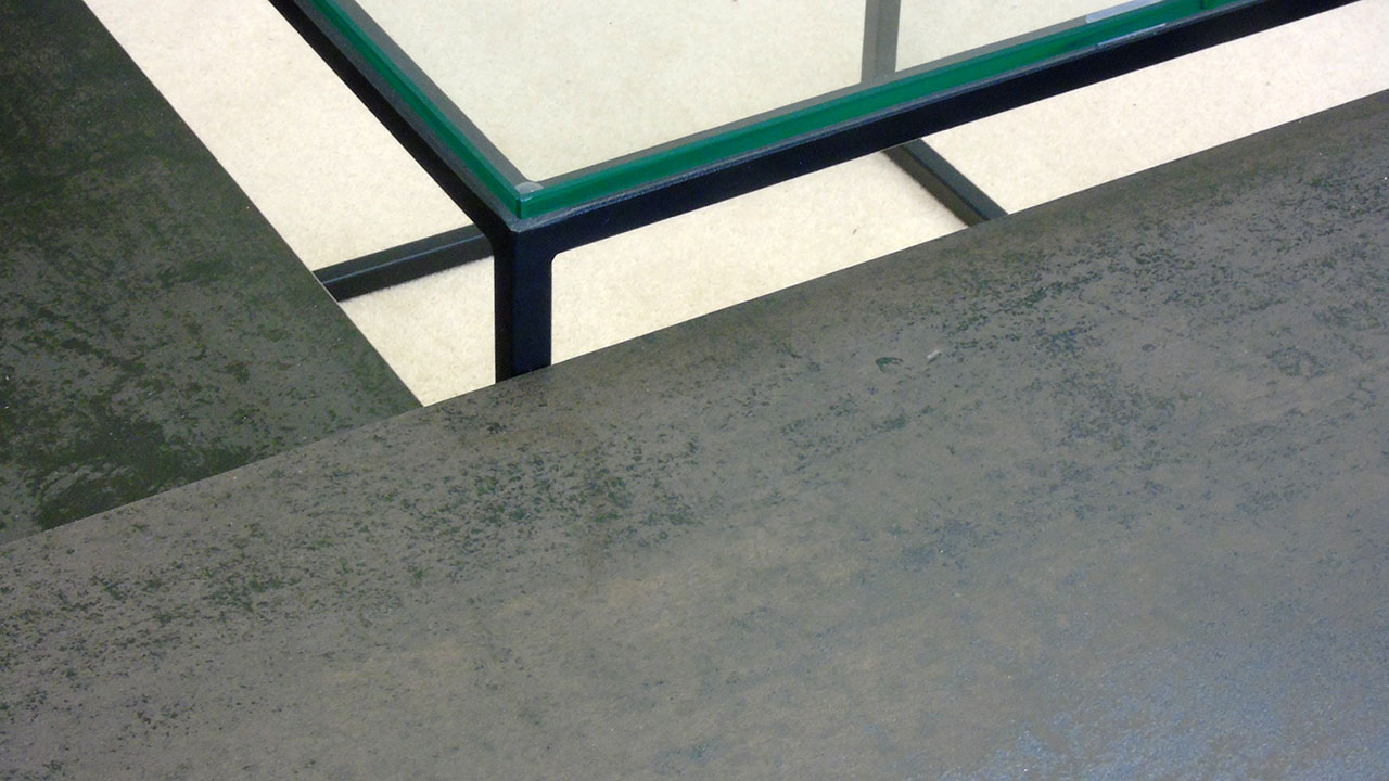Brasilia Occasional Table - Detail View