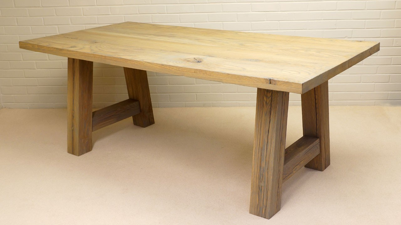 Porto Dining Table - Angled View