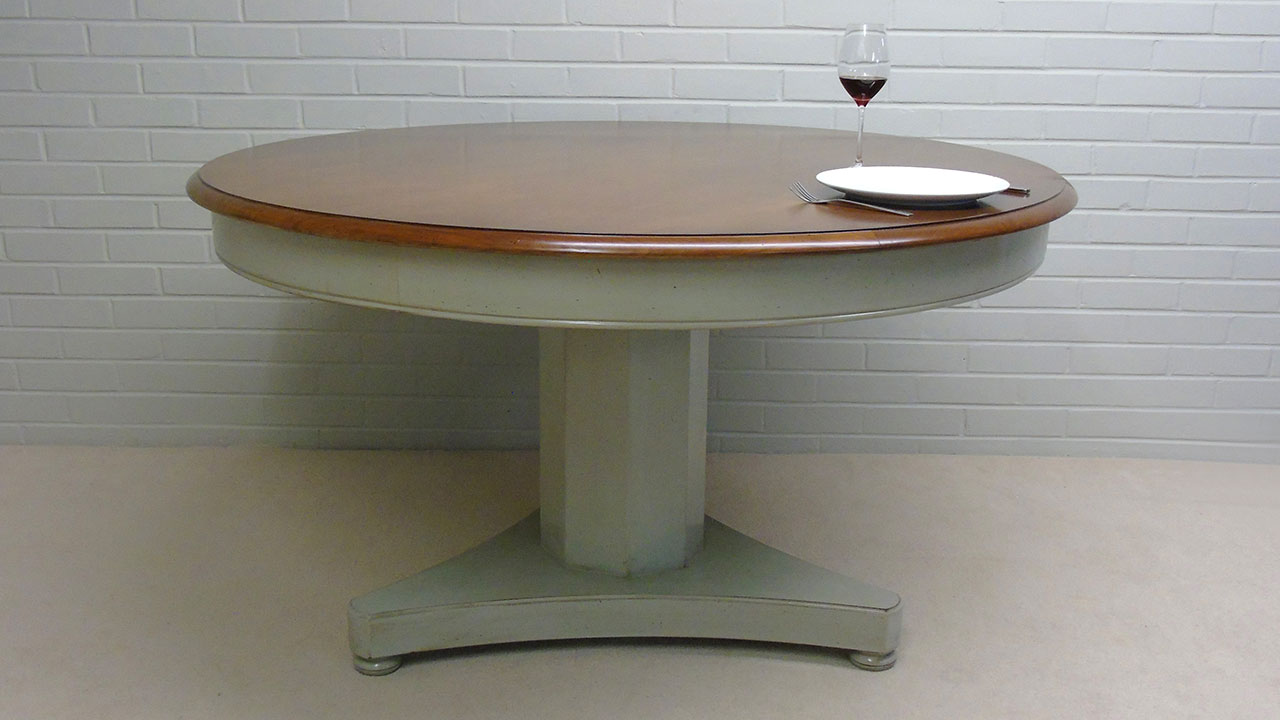 Provence Round Dining Table - Front View