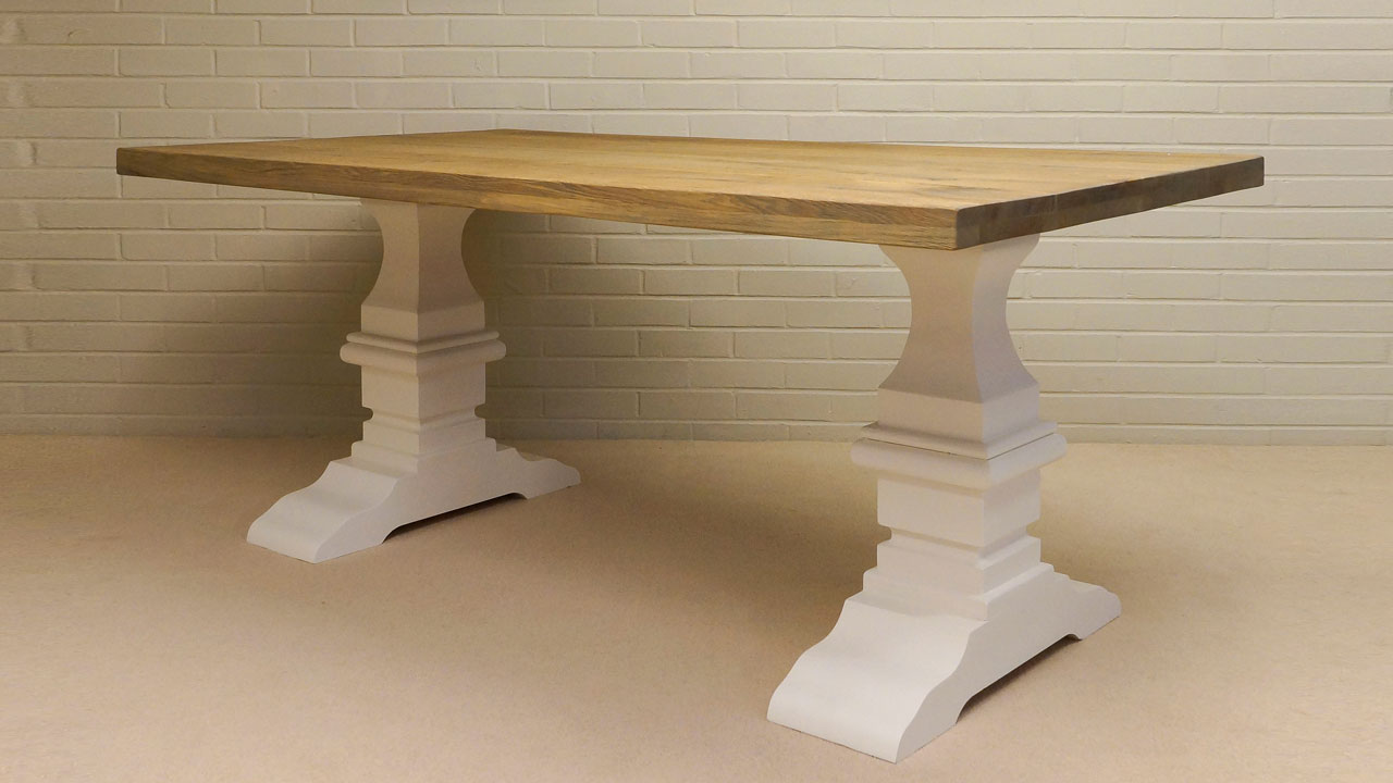 Richmond Normandy Dining Table - Angled View