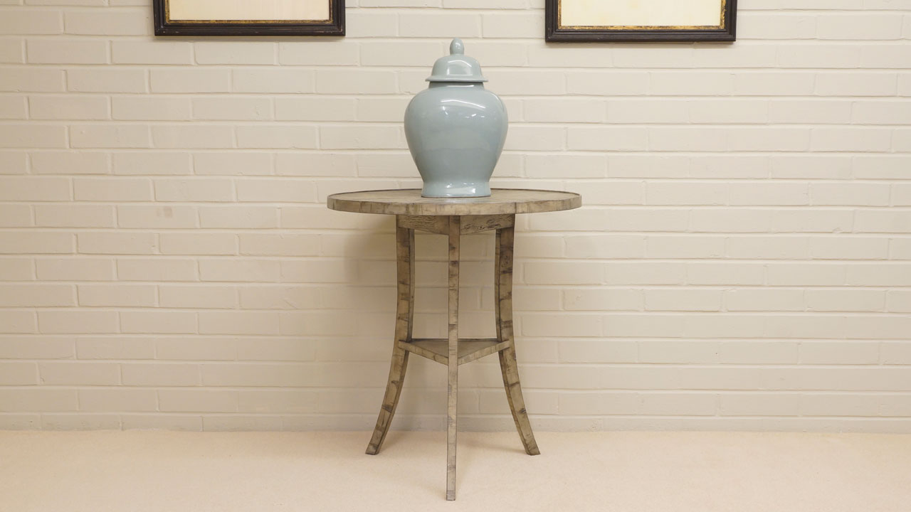 Jonathan Charles Round Side Table - Front View