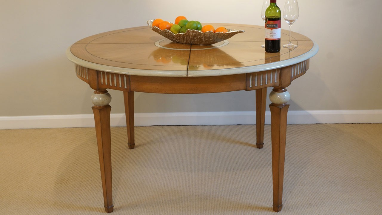 Vendome Dining Table (ex display) - Side View