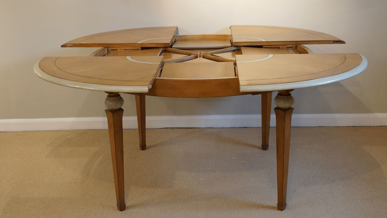 Vendome Dining Table (ex display) - Extending View