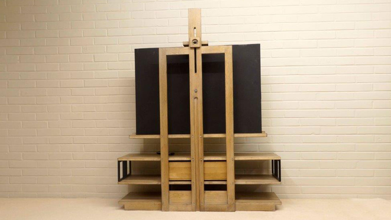 Manufacture TV Stand - Back View