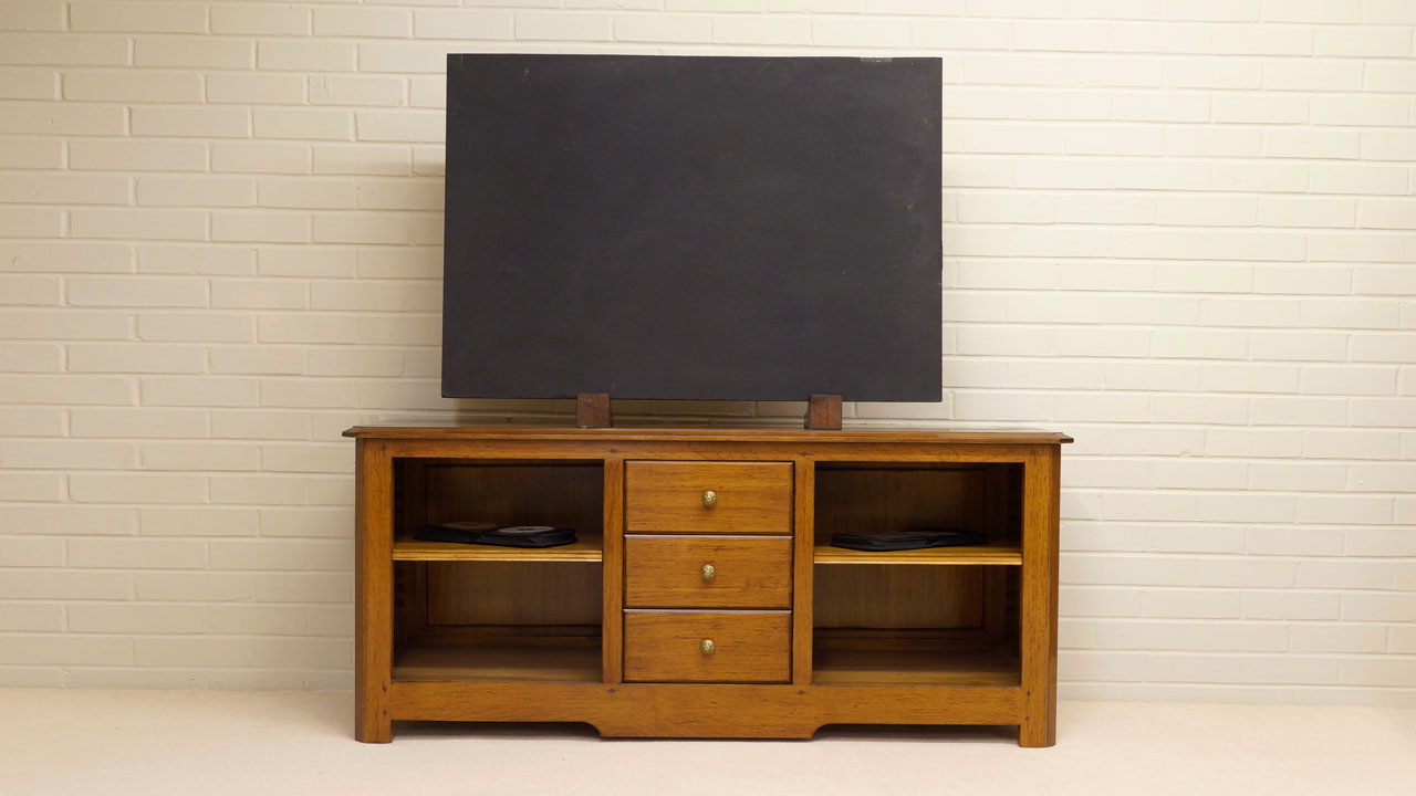 Provence TV Cabinet - Front View
