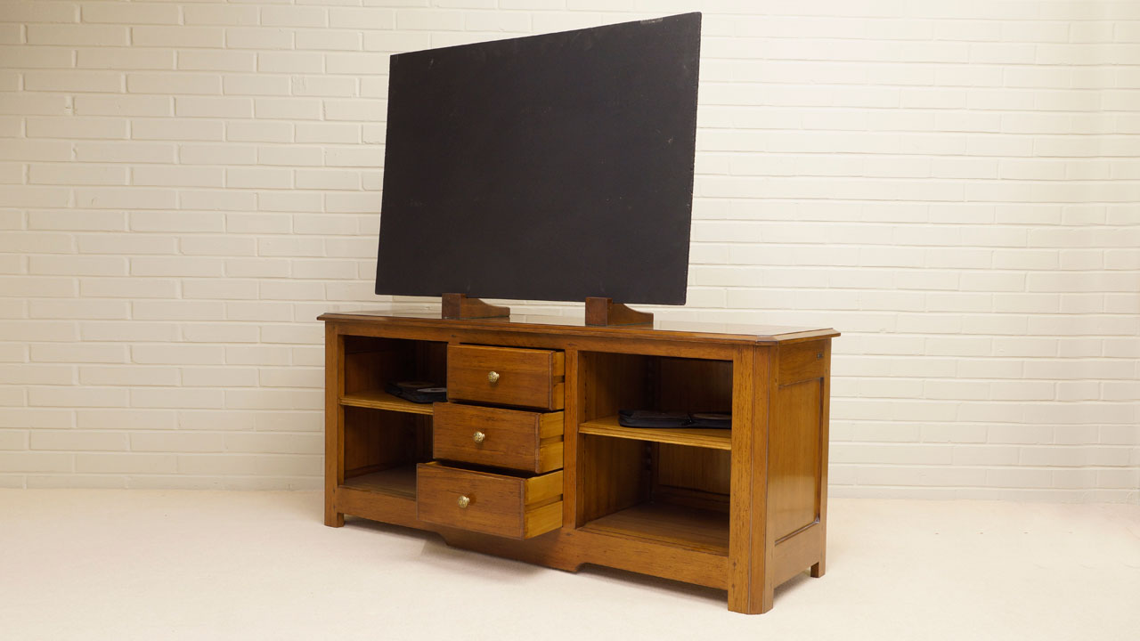 Provence TV Cabinet - Angled View