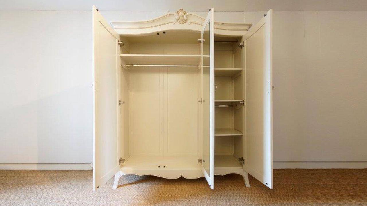 Provence White Wardrobe -